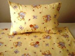 Detské postelné prádlo macko motýľ