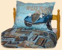 Postelné prádlo San Remo modré