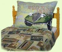 Postelné prádlo San Remo zelené