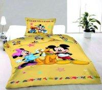 Postelné prádlo Myšiak Miki a priatelia