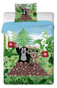 Postelné prádlo Krtko a myška