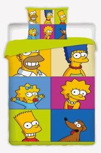 Postelné prádlo Simpsons square