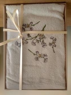 Frote set uterák+osuška béžový