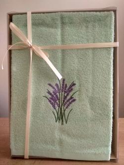 Frote set uterák+osuška zelený