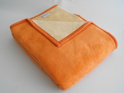Deka Adela 150x200cm oranžovo/béžová